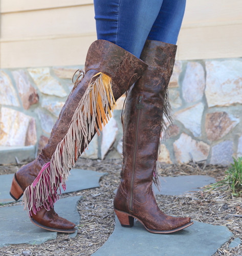 Junk Gypsy by Lane Spirit Animal Brown Boots JG0022A Walk