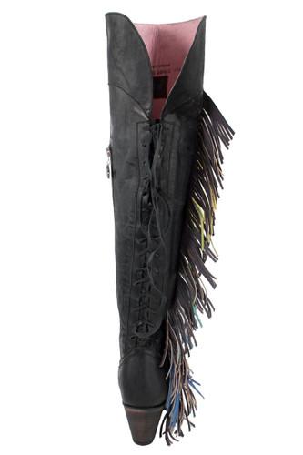 Junk Gypsy by Lane Spirit Animal Black JG0022B Heel