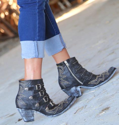 Old Gringo Roxy Black Boots BL2794-1 Walk