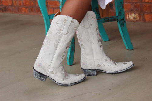 Old Gringo Pansy Bride Boots Side Picture