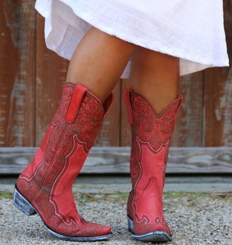 Old Gringo Rosita Pink Boots L2831-1 Image