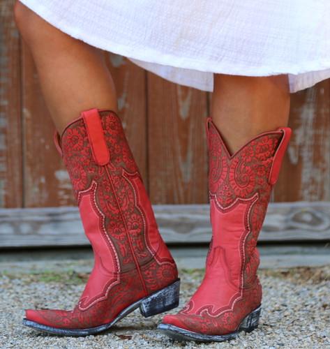 Old Gringo Rosita Pink Boots L2831-1 Front