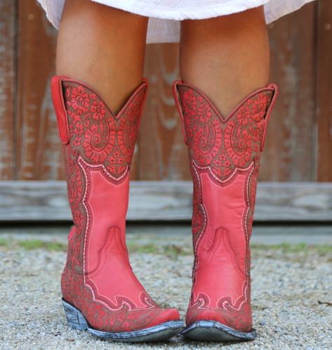 Old Gringo Rosita Pink Boots L2831-1 Toe