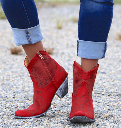 Yippee by Old Gringo Atenea Red Boots YL250-3 Image