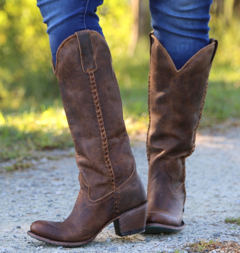 Lane Plain Jane Brown Boots LB0350A Image