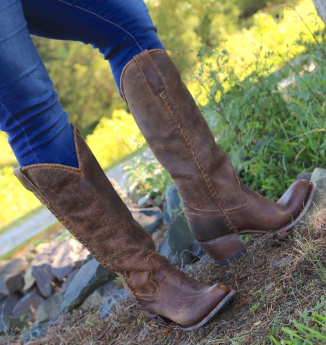 Lane Plain Jane Brown Boots LB0350A Picture