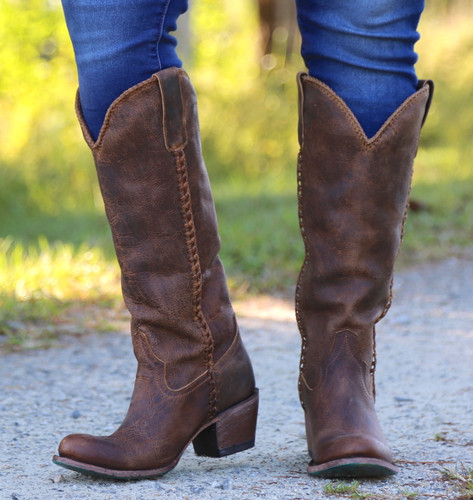 Lane Plain Jane Brown Boots LB0350A Photo