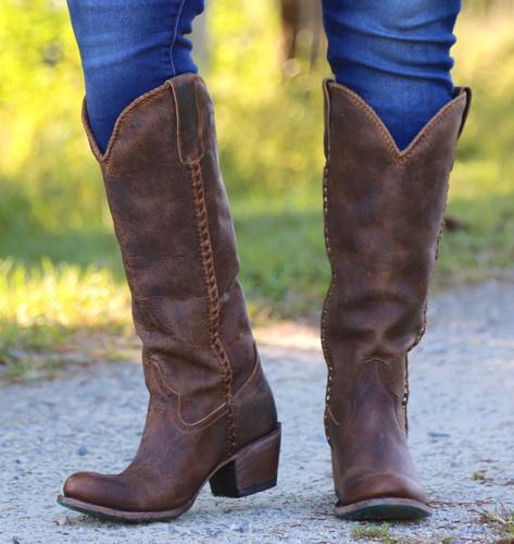 Lane Plain Jane Brown Boots LB0350A Photo