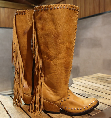 Double D by Old Gringo Spirit Quest Boots DDL012-1 Side