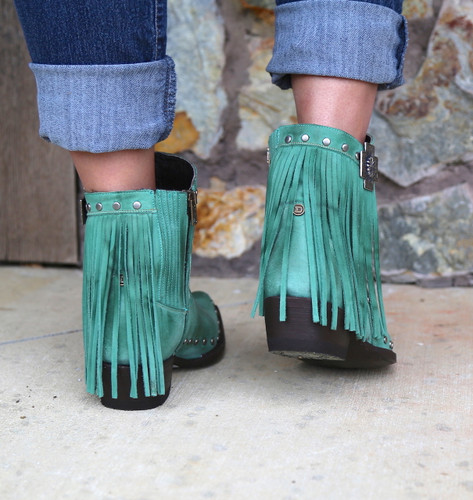Double D by Old Gringo Coyote Moon Boots DDBL008-1 Heel