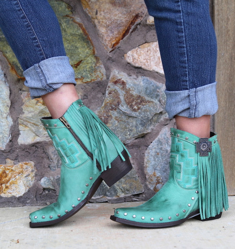 Double D by Old Gringo Coyote Moon Boots DDBL008-1 Image
