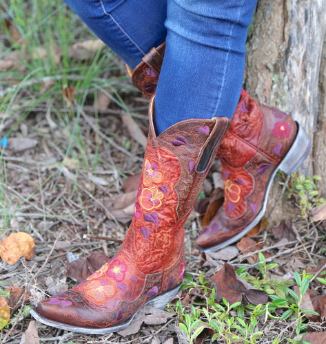 Old Gringo Pansy Mango Boots L2621-6 Picture