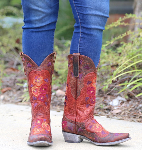 Old Gringo Pansy Mango Boots L2621-6 Photo