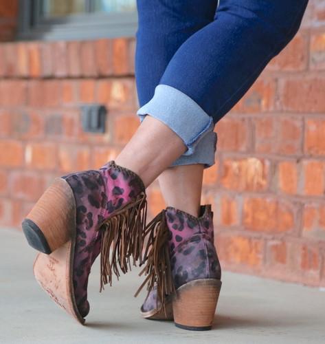 Liberty Black Chita Lipstick Boots LB712320 Heel