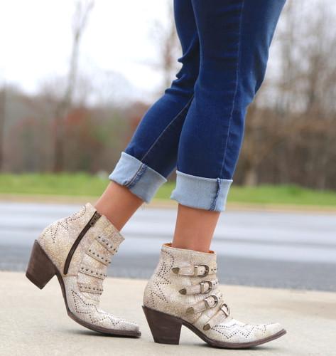 Old Gringo Roxy Milk Boots BL2794-7 Walk