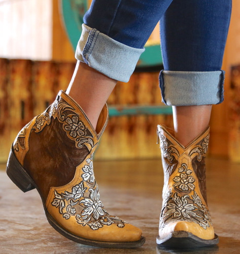 Old Gringo Aster Short Oryx Boots BL2950-2 Toe