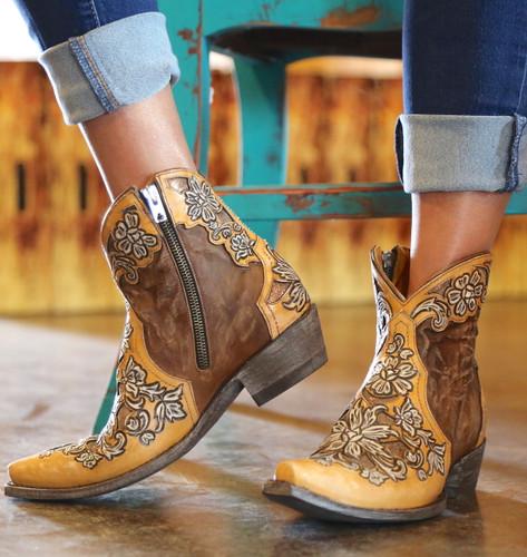 Old Gringo Aster Short Oryx Boots BL2950-2 Zipper
