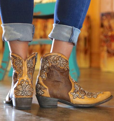 Old Gringo Aster Short Oryx Boots BL2950-2 Heel