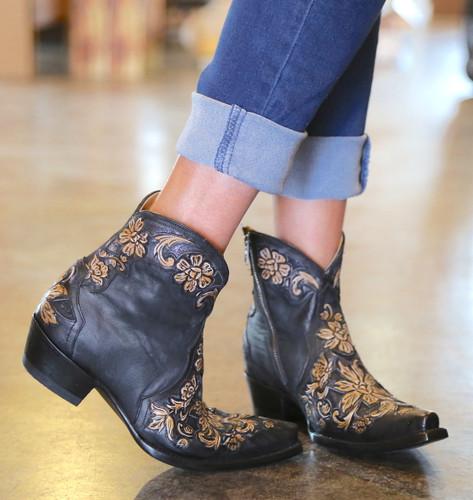 Old Gringo Aster Short Black Boots BL2950-1 Toe