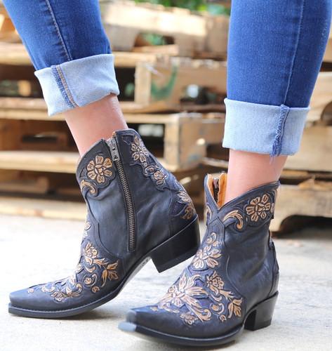 Old Gringo Aster Short Black Boots BL2950-1 Image