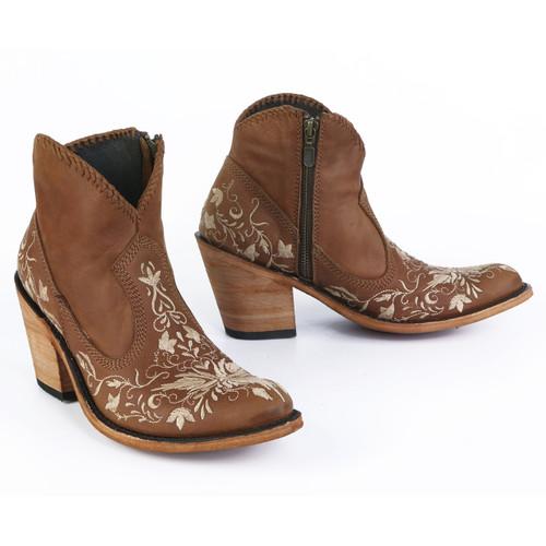 Liberty Black Valerie Short Embroidery Faggio Boots LB712324 Picture