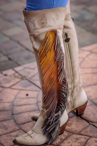 Junk Gypsy by Lane Spirit Animal Bone Boots JG0022C Top