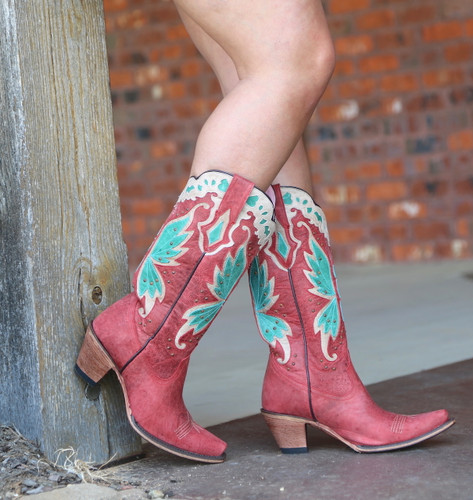 Junk Gypsy By Lane Day Dreamer Strawberry Boots JG0029A Side