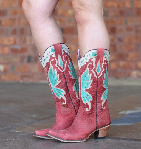 Junk Gypsy By Lane Day Dreamer Strawberry Boots JG0029A Image