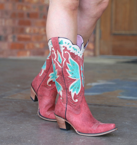 Junk Gypsy By Lane Day Dreamer Strawberry Boots JG0029A Picture