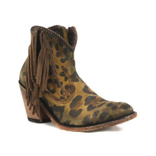Liberty Black Chloe Chita Miel Side Fringe Boots LB712320
