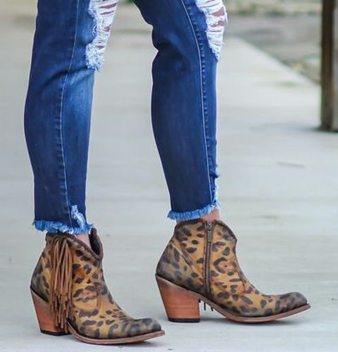 Liberty Black Chloe Chita Miel Boots LB712320 Side Image