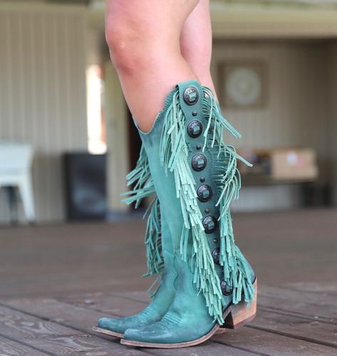 Liberty Black Ophelia Turqueza LB712953 Boots