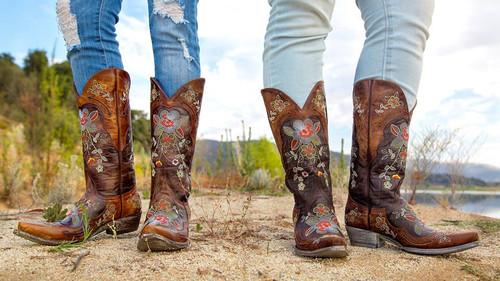 Old Gringo Bonnie Brass Relaxed Fit Boots L649-1  Comparison Photo
