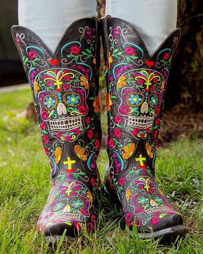 Old Gringo Klak Black Relaxed Fit Boots L1300-1 Live Picture