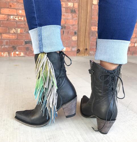 Junk Gypsy by Lane Spirit Animal Shortie Black Boots JG0040B Heel