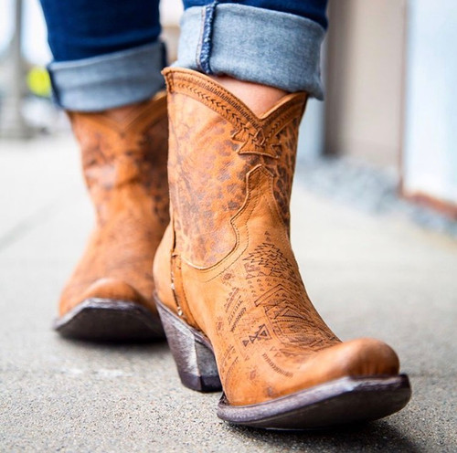 Yippee by Old Gringo Atenea Tan Boots YL250-2 Photo