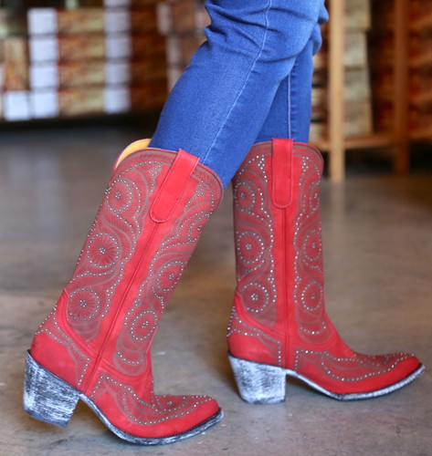 Old Gringo Valentine Red Boots L2774-2 Walk