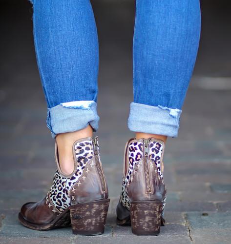 Miss Macie Honey Hush Boots U2012-01 Heel