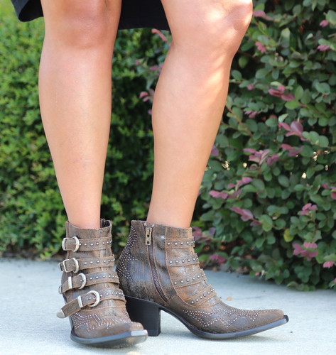 Old Gringo Roxy Rust Boots BL2794-8 Zipper