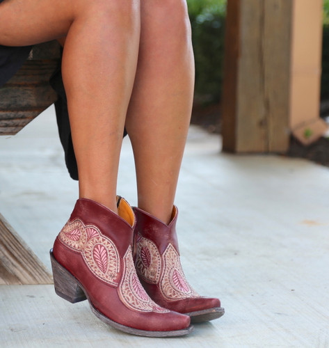 Old Gringo Bianca Wine Boots BL2978-1 Picture