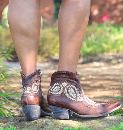 Old Gringo Bianca Oryx Boots BL2978-3 Heel