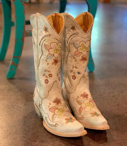 Old Gringo Bonnie Milk Boots L649-9 Image