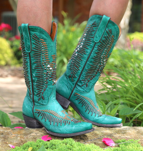 Old Gringo Harper Turquoise Boots L2971-3 Image