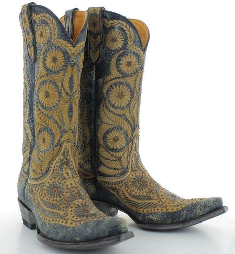 Old Gringo Valentine Blue Boots L2972-1 Picture