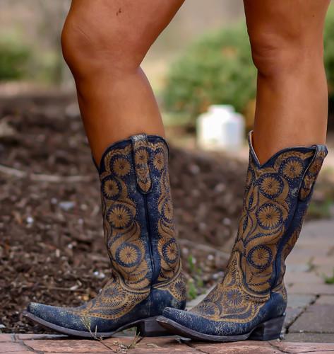 Old Gringo Valentine Blue Boots L2972-1 Photo