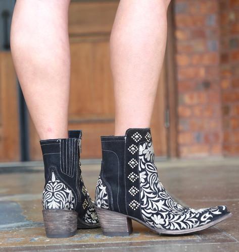 Old Gringo Wink Black Boots BL2985-1 Heel
