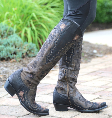 Old Gringo Bonnie Mayra Brown Boots L2989-1 Side