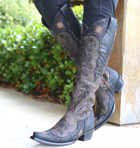 Old Gringo Bonnie Mayra Brown Boots L2989-1 Picture
