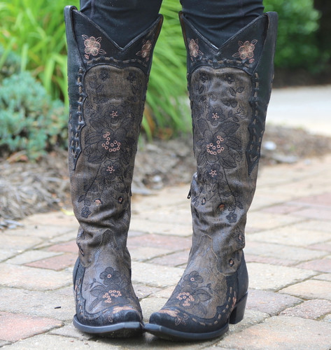 Old Gringo Bonnie Mayra Brown Boots L2989-1 Embroidery