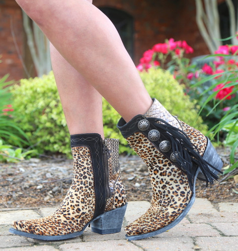 Double D by Old Gringo Skat Kat Brown Boots DDBL029-1 Image